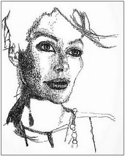 Keira Rathbone, Menggambar Dengan Mesin Ketik